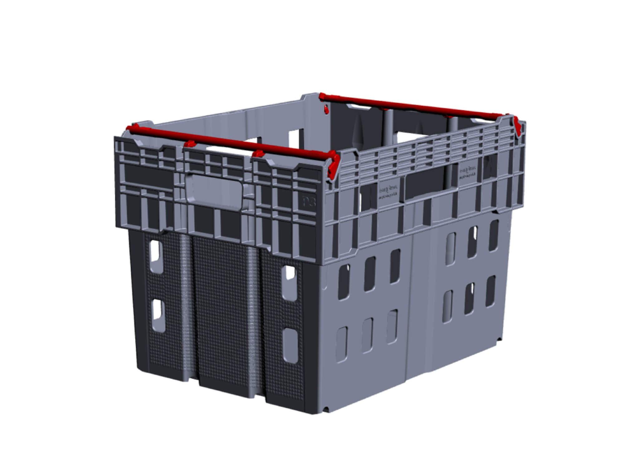 ECR Plastikinė dėžė P3